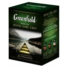 "Greenfield Black Tea ""Royal Earl Grey"" 20pak"