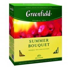 """Greenfield Herbal Tea """"Summer Bouquet"""" 100 bags"""