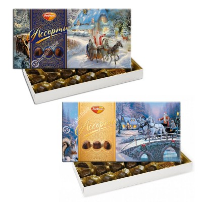 """Chocolates Set """"Assorted New Year""""  (220gr)"""