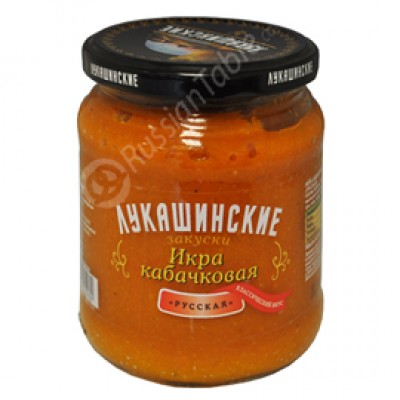 "Squash Paste ""Lukashinskie"" русская"