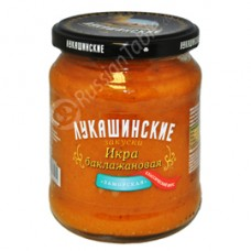 "Eggplant paste ""Lukashinskie"""