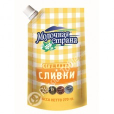 "Imported Russian Condensed Milk with Cream ""Molochnaya Strana"""