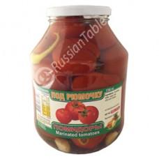 """Marinated tomatoes """"Pod Ryumochku"""" 1.6L"""