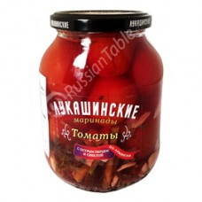 "Tomatoes marinated""Lukashinskie"" Armenian style 670g"