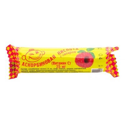 Ascorbic acid (with raspberry)