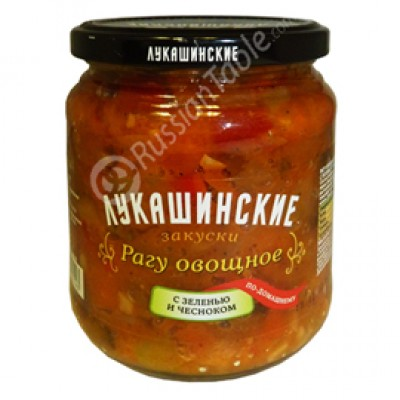 "Vegetable Ragout ""Lukashinskie"" home-style"