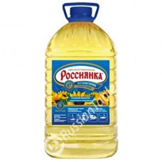 """Rossiyanka"" Refined Sunflower oil 5l"