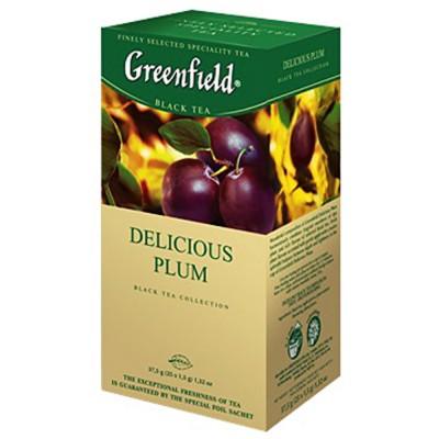 "Greenfield Black Tea ""Delicious Plum"" 25pak"