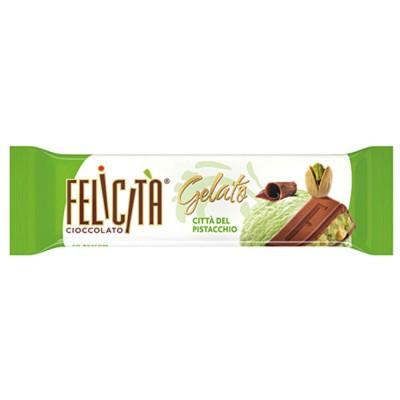 """Milk chocolate """"Imported Russian Chocolate Felicita gelato"""" Citta del Pistacchio"""