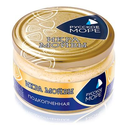 "Moiva (Capelin) Caviar Smoked ""Russkoe More"""