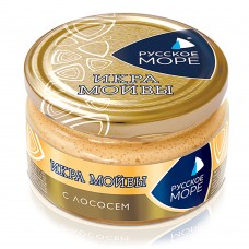 "Moiva (Capelin) Caviar Spread ""Russkoe More"" with Salmon"