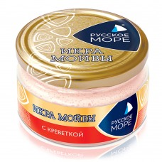 "Moiva (Capelin) Caviar Spread ""Russkoe More"" with Shrimp"