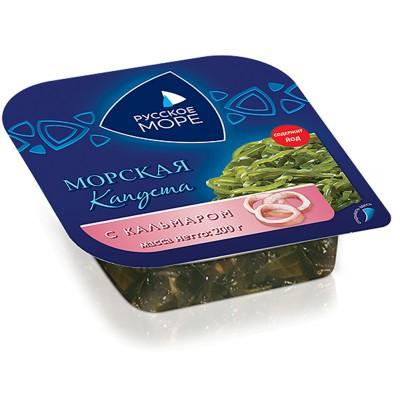 """Seaweed Salad with squid """"Russkoe more"""""""