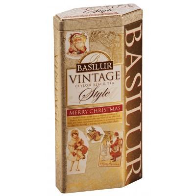"""Black tea Basilur """"Vintage""""  Merry Christmas"""