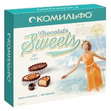 "Chocolate Sweets ""Komilfo"" Assorted (232gr)"
