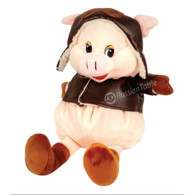 """New Year Gift - """"Pilot"""" plush toy (500gr)"""