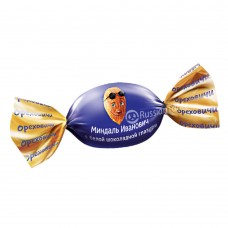 "Candy ""Almond Ivanovich"" in chocolate glaze"