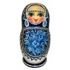 "Wooden figure ""Matreshka"" with natural honey"