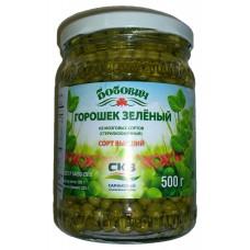 """Green peas """"Bobovich"""""""