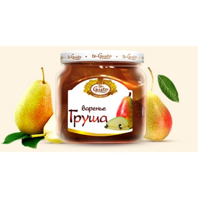 "Russian Jam ""te Gusto"" ""Pear"""