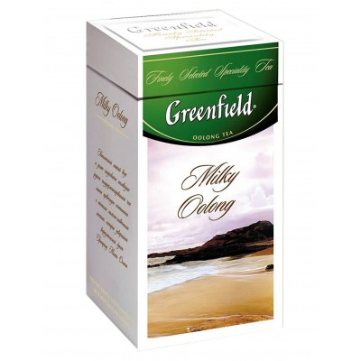"Greenfield Oolong Tea ""Milky Oolong"" (metal tin)"