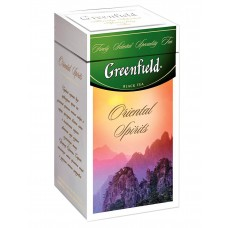 "Greenfield Black Tea ""Oriental Spirits"" (metal tin)"
