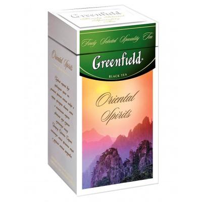 "Greenfield Black Tea ""Oriental Spirits"" (metal tin)"