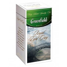 "Greenfield Black Tea ""Royal Earl Grey"" (metal tin)"