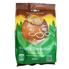 """Candy """"Hazelnut Petrovich"""" in caramel 200gr"""