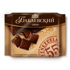 "Dark chocolate ""Venezuela"" with sesame seeds"