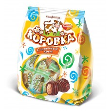 "Wafer Candies ""Korovka""Creamy Cream 250gr"