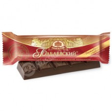 "Chocolate Bar ""Babaevsky"" with Fondant-Cream Filling"""