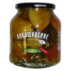 "Tomatoes salted ""Lukashinskie"" Cossacs-style 670g"