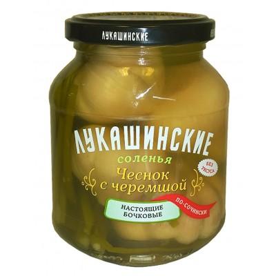 "Garlic with Ramson ""Lukashinskie"" Sochi style"