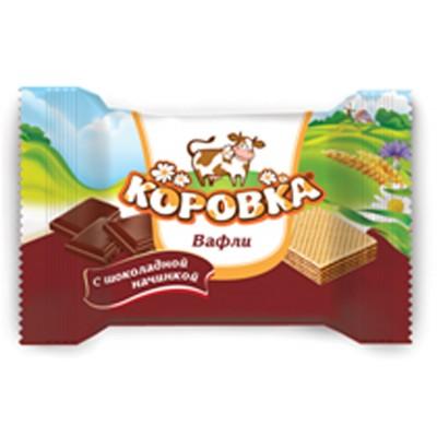 "Wafer snaсks ""Korovka - mini"" Chocolate taste"