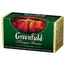 "Greenfield Black Tea ""Kenyan Sunrise"" 25 pak"
