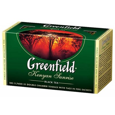 "Greenfield Black Tea ""Kenyan Sunrise"" 25 pak"