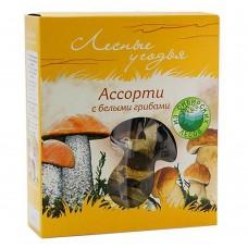 "Assorted Dry Mushrooms ""Lesnyye ugodya"" with Porcini"
