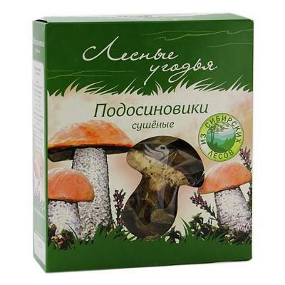 """Mushrooms """"Lesnyye ugodya"""" dried podosinoviki"""