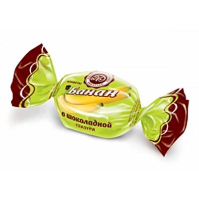"Sweets Micaello ""Banana"" in chocolate glaze"