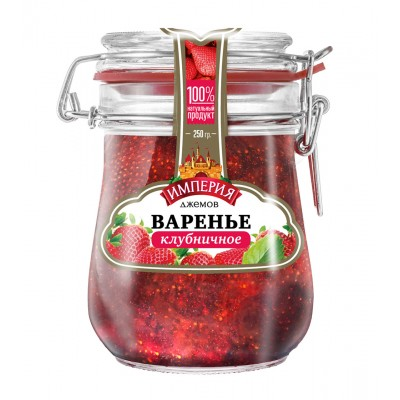 "Strawberry jam ""Jam Empire"" 550 gr."