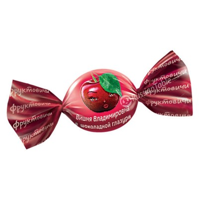 "Candies ""Cherry Vladimirovna"" Chocolate coated"
