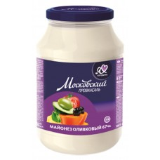 "Mayonnaise ""Moscow Provansal"" Olive (Glass) 850ml"
