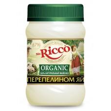 "Mayonnaise ""Mr. Ricco Organic"" on quail egg 450 ml"
