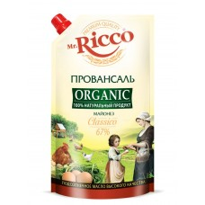 "Mayonnaise ""Mr. Ricco Organic"" Provansal Classic 400 ml"