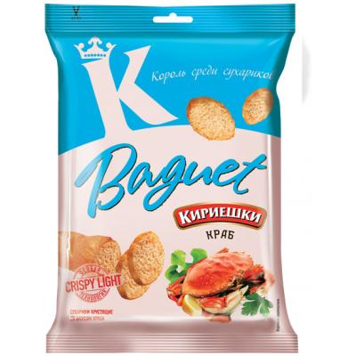 "Wheat croutons ""Kirieshki Baquet"" Crab taste"