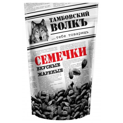 "Sunflower seeds ""Tambov wolf"" delicious, fried 230 g"