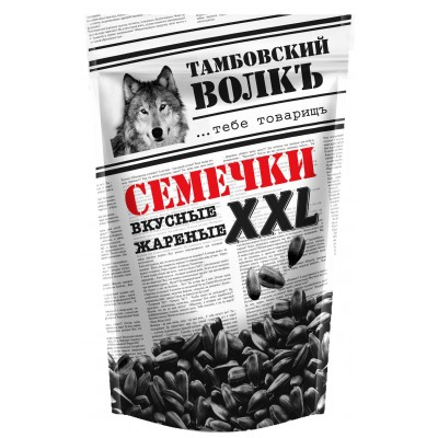 "Sunflower seeds ""Tambov wolf"" delicious, fried XXL 400 g"