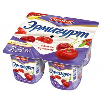 "Ermigurt 7,5% ""Creamy"" cherry-cherries"
