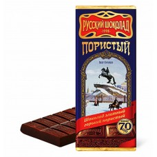 "Elite chocolate ""Russian Chocolate"" bitter aerated 70%"
